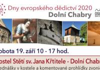 Dny evropského dědictví - Praha Dolní Chabry