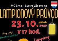 Lampionový průvod - Brno Bystrc