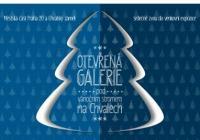 Otevřená Galerie pod vánočním stromem na Chvalech