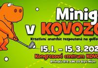 Minigolf v Kovozoo