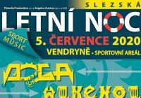 Slezská noc 2020 - Sportovní areál Vendryně Třinec přeloženo na 2021