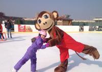 Zábavné kurzy ledního bruslení pro děti
