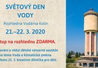 Světový den vody na kolínské rozhledně Vodárna