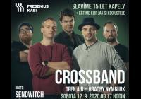 Crossband - velká oslava Pod Hradbami v Nymburce