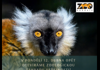 Otevření venkovních prostor v Zoo Hodonín