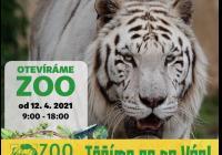 Otevření venkovních prostor - Zoo Dvorec