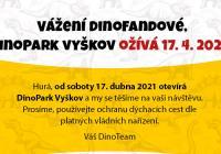 Otevření DinoParku Vyškov
