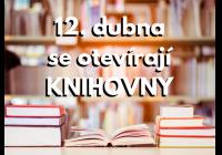 Otevření knihoven po celé ČR