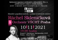 Koncert Ráchel Skleničkové & orchestru VŠCHT
