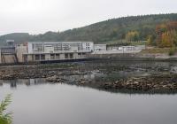 Vodní elektrárna Kamýk, Kamýk nad Vltavou