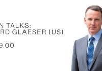 Urban Talks: Edward Glaeser (US)