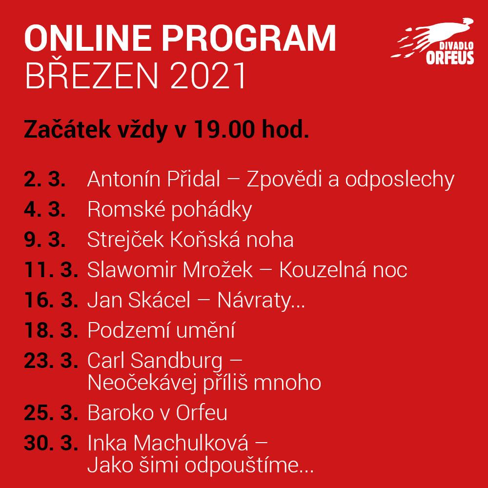 LIVE stream - Slawomir Mrožek Kouzelná noc