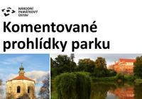 Komentované prohlídky Horšovskotýnského zámeckého parku
