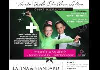 Taneční kurzy pro děti - latina a standard