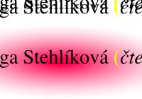 Letní autorské čtení   Olga Stehlíková