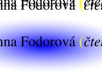 Letní autorské čtení   Anna Fodorová