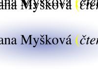 Letní autorské čtení | Ivana Myšková