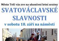 Svatováclavské slavnosti - Telč