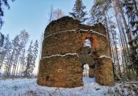 Zřícenina větrného mlýnu Radvanov