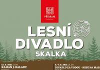 Lesní divadlo Skalka - léto