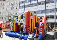Léto v centru Brna