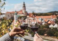 Zahájení festivalu vína v Českém Krumlově
