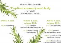 Tradiční rozmarýnové hody v Polánce