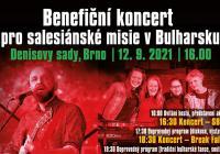 Benefiční koncert pro Salesiánské misie v Bulharsku 2021