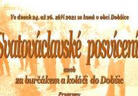 Svatováclavské posvícení - Dobšice