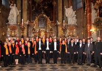 Brněnský sbor Lumír v Praze 2021 - nedělní mše Chrám sv. Víta
