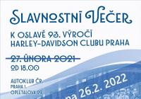 Slavnostní večer Harley-Davidson clubu Praha