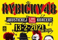 LIVE stream – Rybičky 48 / Akustickej live stream koncert
