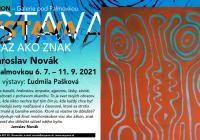 Obraz jako znak - Jaroslav Novák v Galerii pod Plamovkou