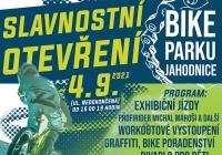 Slavnostní otevření Bikeparku Jahodnice