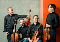 LIVE stream - Zemlinského kvarteto - Antonín Dvořák – Smyčcové kvartety