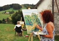 Víkendové malování v Krkonoších