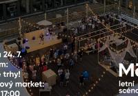 Máj 4. patro - Designové trhy & živá hudba