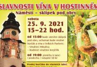 Slavnosti vína v Hostinném