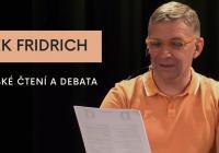 LIVE stream - Autorské čtení Radka Fridricha