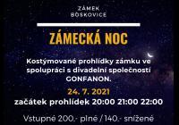 Zámecká noc - Zámek Boskovice