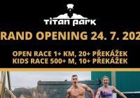 Oficiální otevření Titan Parku