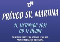 Svatomartinský průvod - Praha Řepy