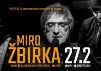 LIVE stream – Miro Žbirka / online koncert