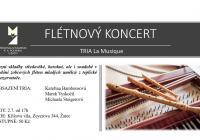 Flétnový koncert tria La Musique