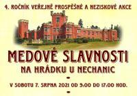 Medové slavnosti na Hrádku u Nechanic