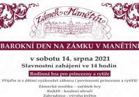 Barokní den - Zámek Manětín