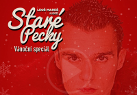 Leoš Mareš / Staré Pecky / záznam Vánočního speciálu z nového bytu