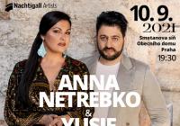 Anna Netrebko a Yusif Eyvazov v Praze