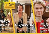 Autokino Příbram - Prach a broky, Teroristka a Rivalové a další