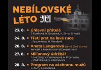 Nebílovské divadelní léto 2021 - Program na záchranu mužů